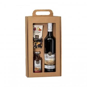 Dárkové balení Červené víno...